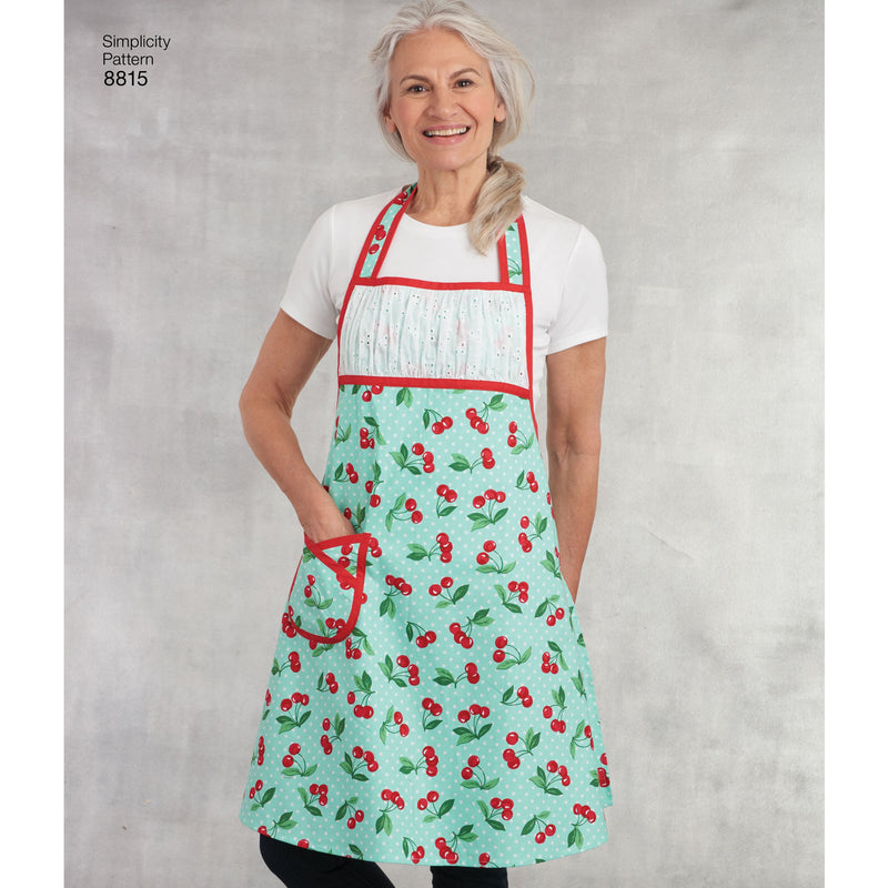 Simplicity Pattern 8815 Child's and Misses' Apron from Jaycotts Sewing Supplies