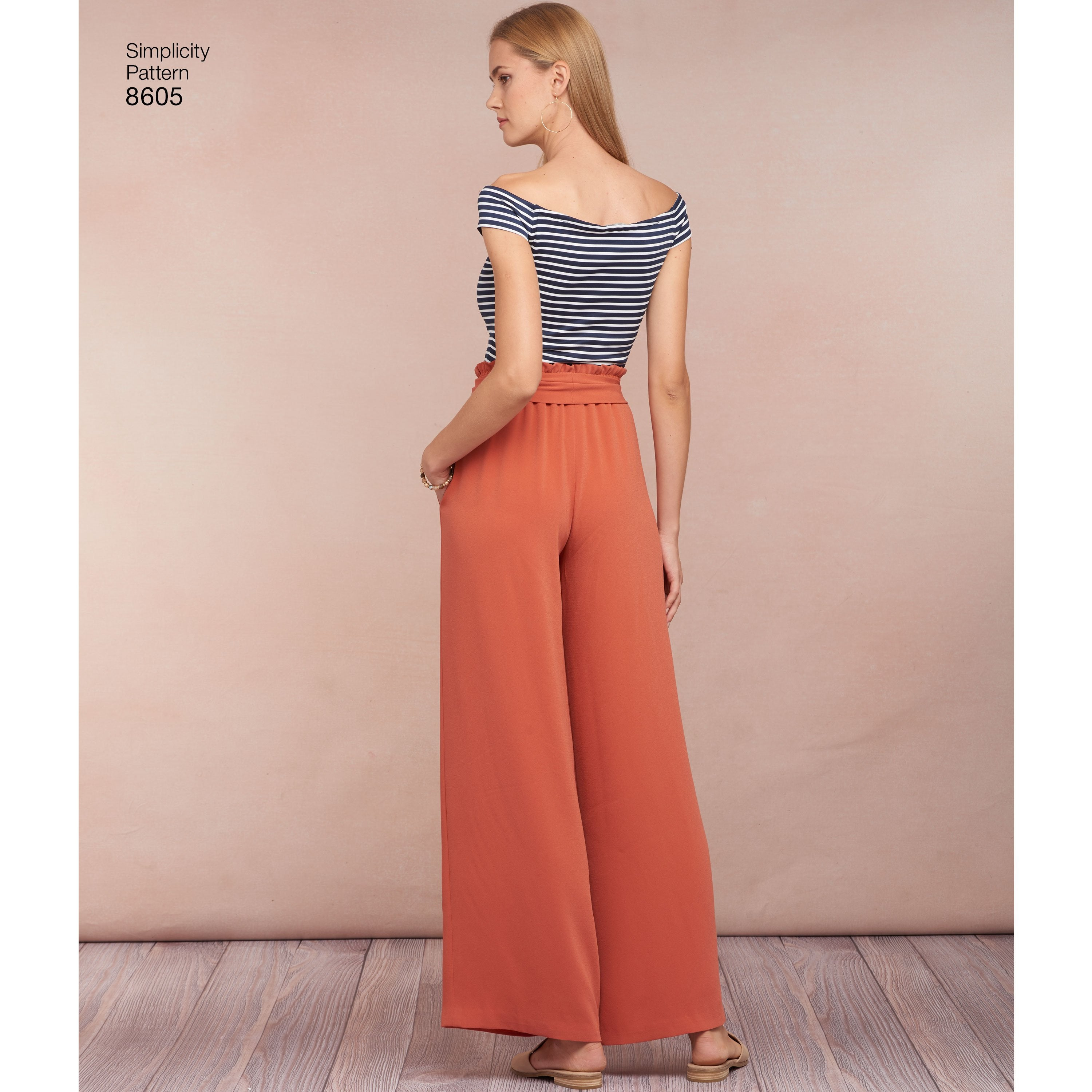 S8605 Women's Pull on Skirt and Pants