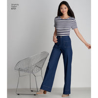 Simplicity Pattern 8701 womens trousers