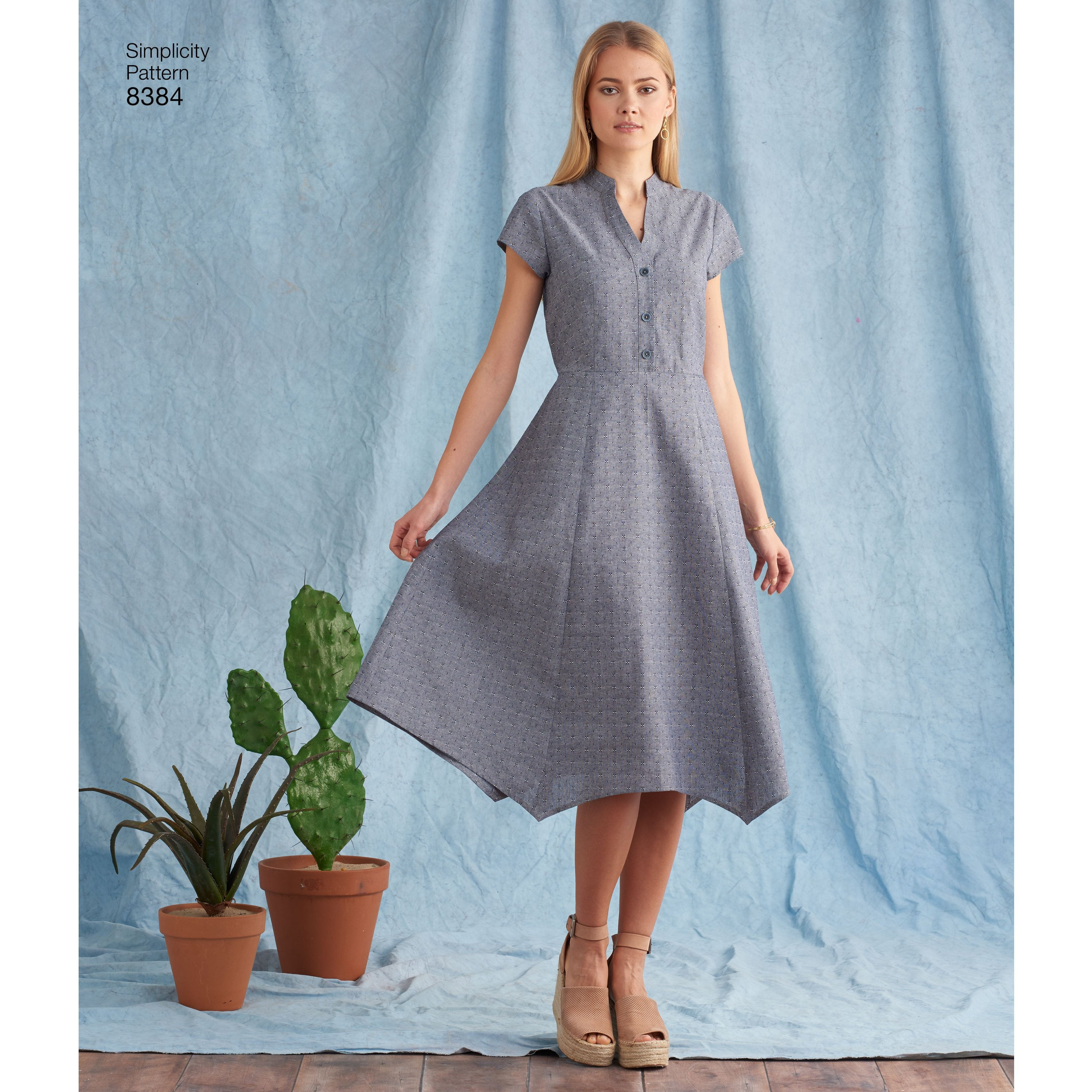 Shirt dress in a variety of lengths and hemlines