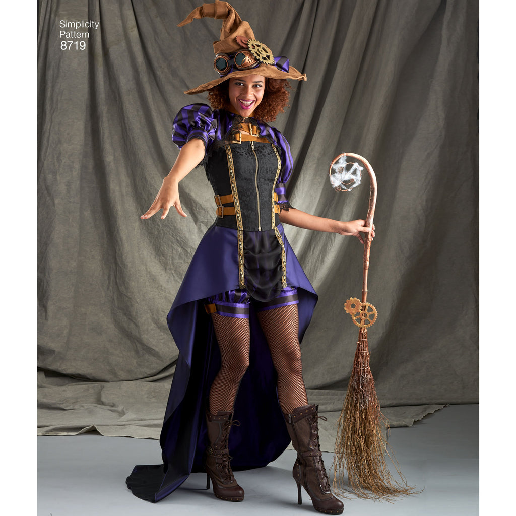 Simplicity Pattern 8719 steampunk-costumes