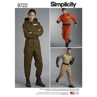 Simplicity Pattern 8722 Women's, Men's and Teens' Costume