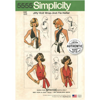 Simplicity Pattern 5555  Wrap and tie halter from Jaycotts Sewing Supplies
