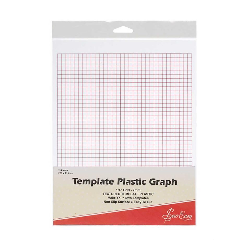 Template Plastic (Printed Graph)