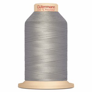 Grey Gütermann Overlock Thread - TERA 180 | 2000m from Jaycotts Sewing Supplies