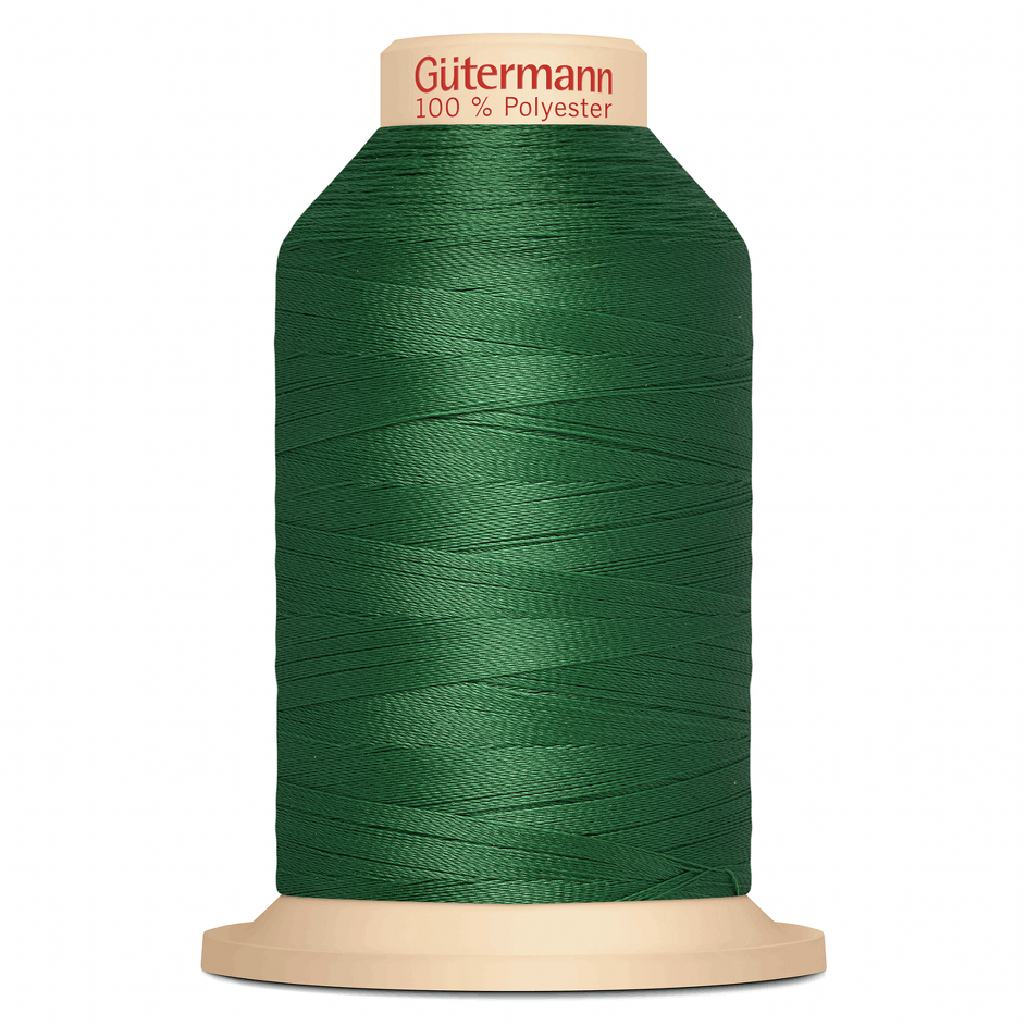 Green Gütermann Overlock Thread - TERA 180 | 2000m from Jaycotts Sewing Supplies