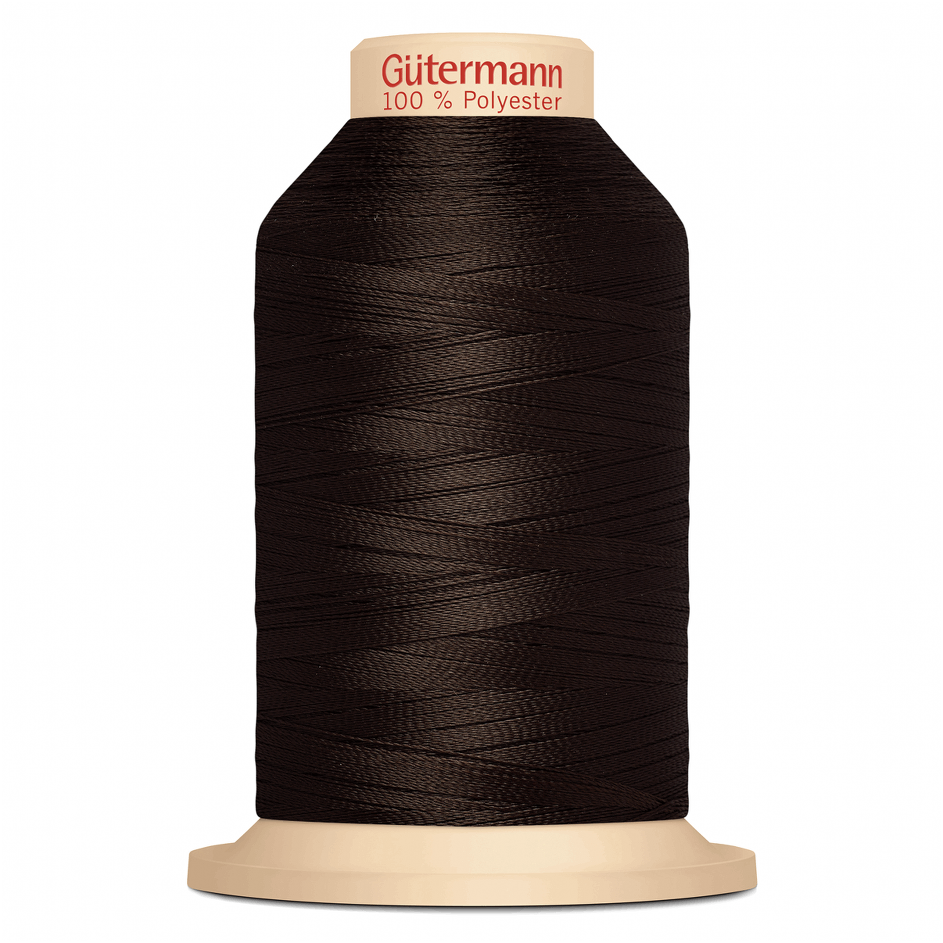 Brown Gütermann Overlock Thread - TERA 180 | 2000m from Jaycotts Sewing Supplies
