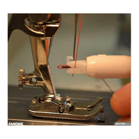Handy needle threader for sewing machines by Janome