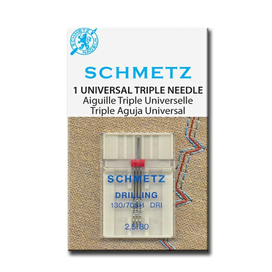Schmetz Triple Needle from Jaycotts Sewing Supplies