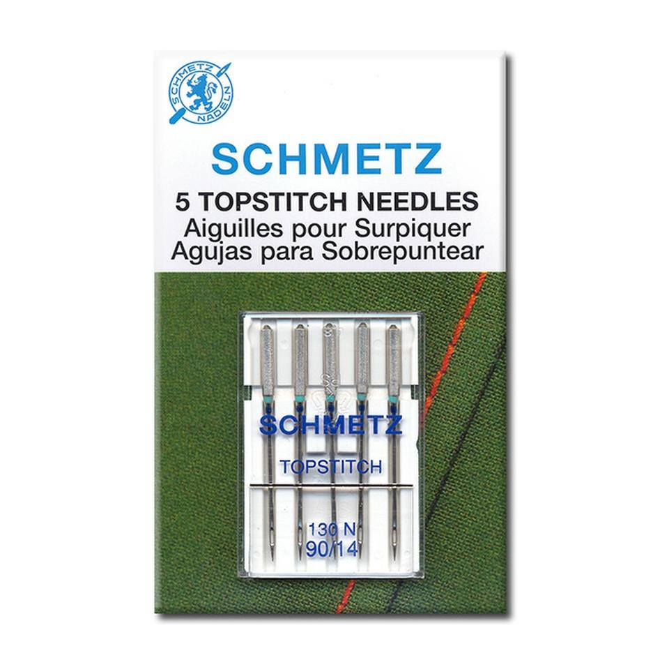 Schmetz machine needles for Topstitch | Pack of 5