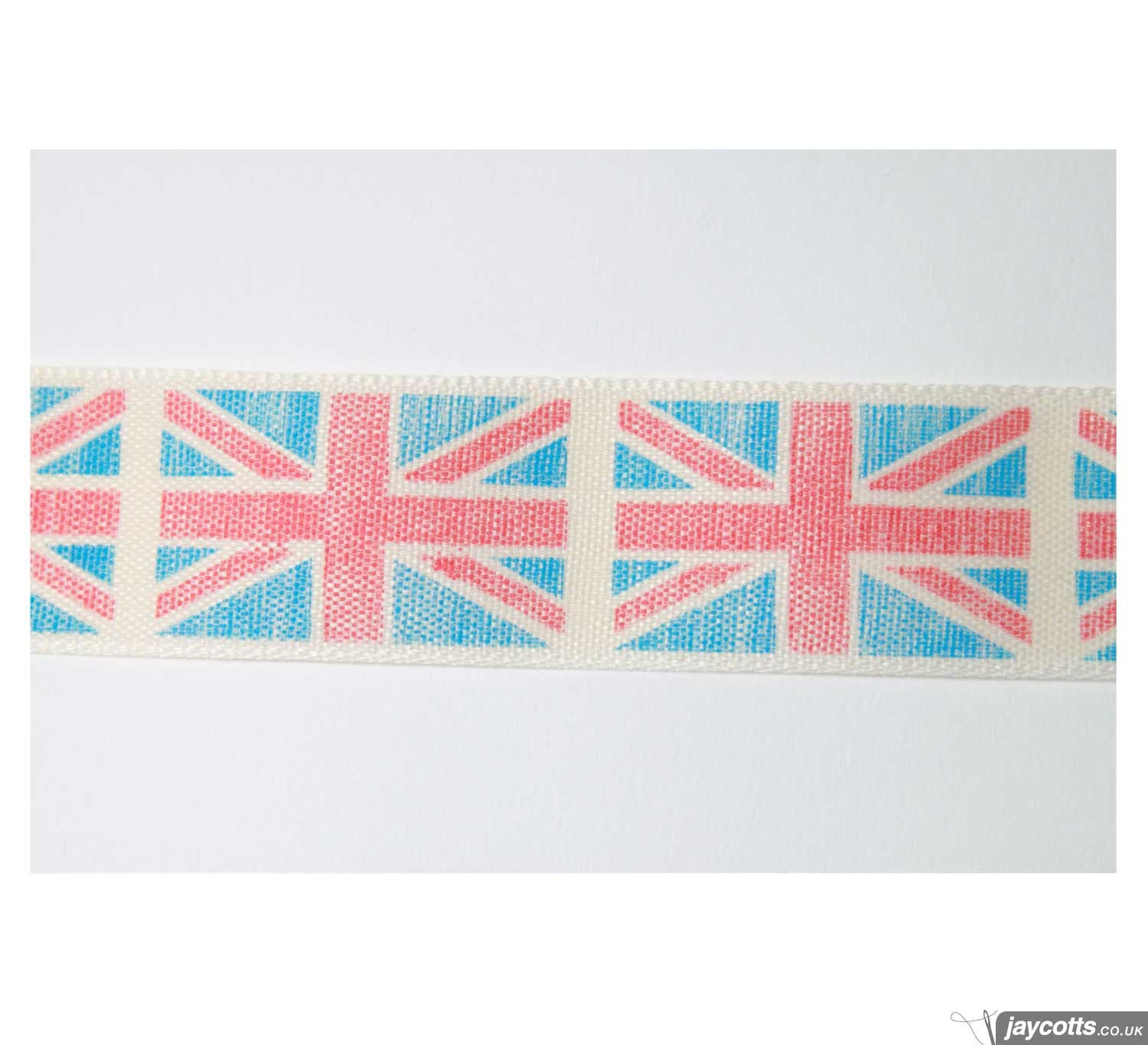 Vintage Union Jack Ribbon
