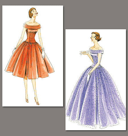 Vogue Pattern 1094 Vintage 1950s  Dress Pattern from Jaycotts Sewing Supplies
