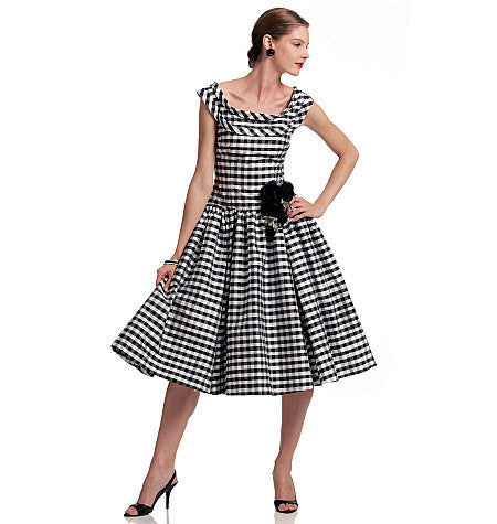 V1094 Misses' Dress | Average | Vintage 1950s