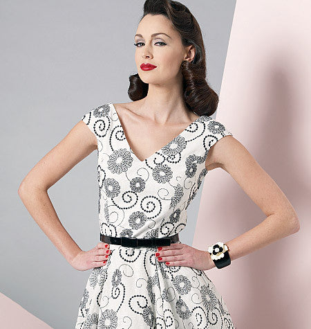 Vogue Pattern 1172 A classic dress from Vogue from Jaycotts Sewing Supplies