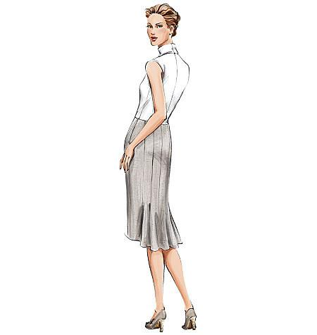 Vogue Pattern 7937 MISSES' PETITE SKIRT