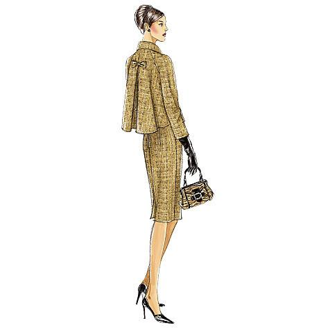 Vogue Pattern 8146 MISSES' PETITE JACKET AND DRESS