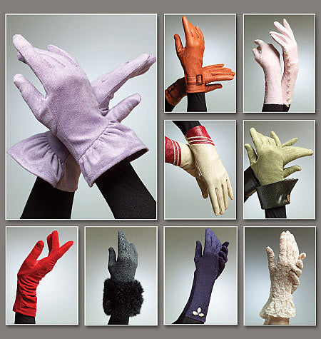Vogue Pattern 8311  Gloves from Jaycotts Sewing Supplies