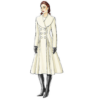 Vogue Pattern 8346 Misses' Coat | Easy from Jaycotts Sewing Supplies