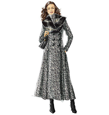 Vogue Pattern 8346 Misses' Coat | Easy