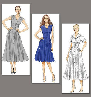 Vogue Pattern 8577 Misses' Dress | Very Easy from Jaycotts Sewing Supplies