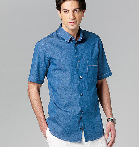 V8759 Men's Shirt | Easy