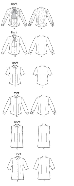Vogue Pattern 8772 Misses' Blouse | Easy