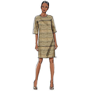 Vogue Pattern 8805 Misses' Dress | Very Easy