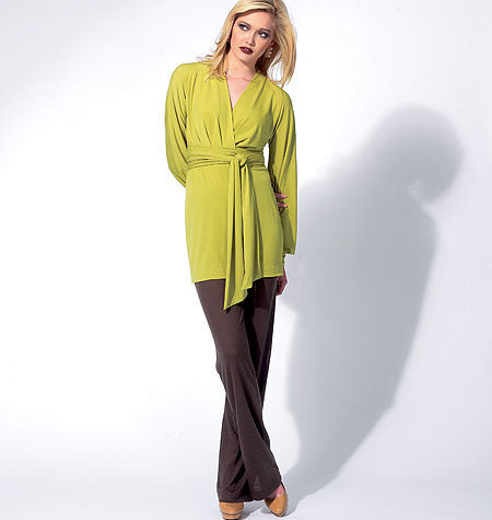 V8825 Misses' Tunic, Dress And Pants | Very Easy