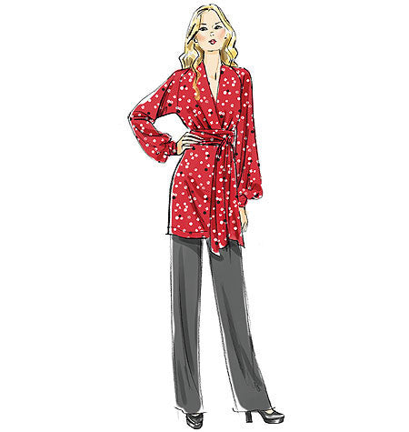 Vogue Pattern 8825 Tunic, Dress And Pants from Jaycotts Sewing Supplies