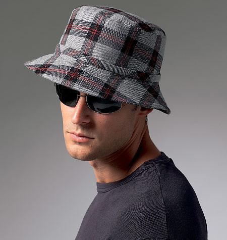 Vogue Pattern 8869 Men's Hats