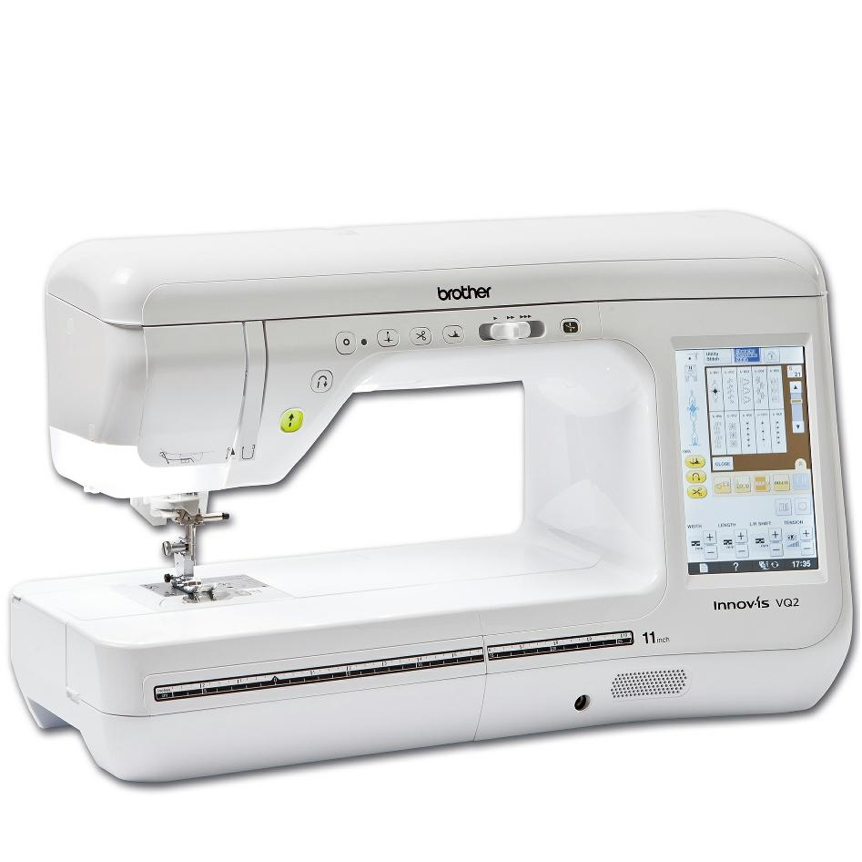 Brother Innov-is VQ2 long arm from Jaycotts Sewing Supplies