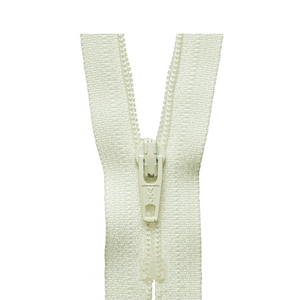 YKK Regular Zip - Ivory from Jaycotts Sewing Supplies