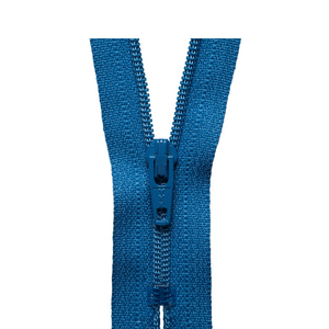 YKK Regular Zip - Saxe Blue