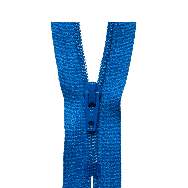 YKK Regular Zip - Royal Blue