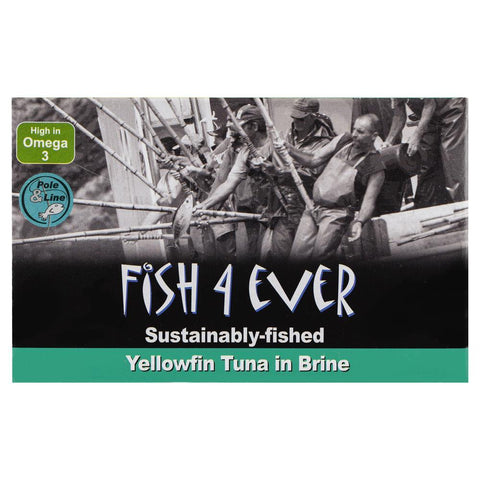 Fish4Ever Yellowfin Tuna Fish in Brine 120g