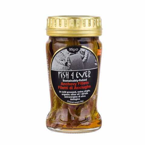 Anchovies in Org Olive Oil 95 g
