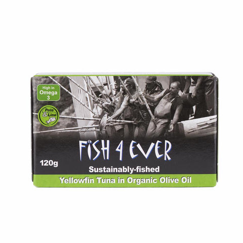 Yellowfin Tuna in OrgOlive Oil 120 g