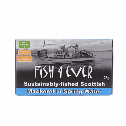 Mackerel in Spring Water 125 g