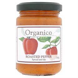 Org Roasted Red Pepper Dip 140 g