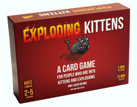 Exploding Kittens Card Game (Original, NSFW or Imploding Kittens Expansion)! - Funraiden