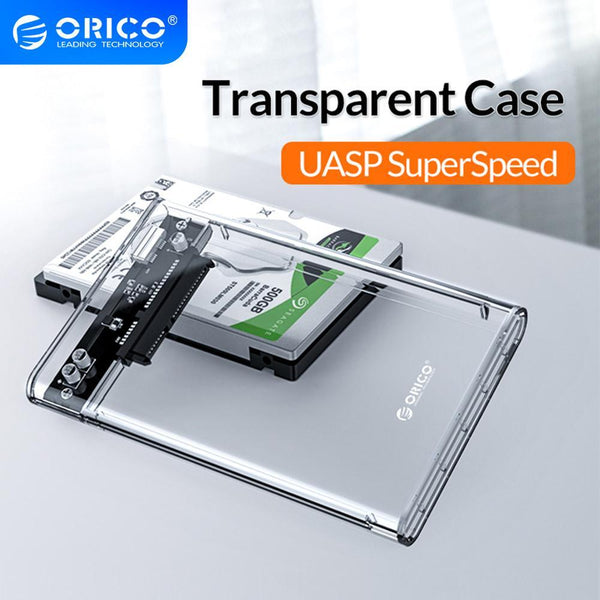 "ORICO Tool Free USB 3.1 Type-C to Any SATA 2.5"" HDD / SSD up to 4TB! - Funraiden"
