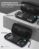 Deluxe Protective Travel Case for Nintendo Switch! (Dual Protection & Large Capacity)
