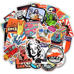 50 Pieces of RetroStyle Stickers!