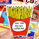 100(!) Pieces of Sexy Retro Punk Stickers!