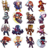 50 Pieces of Cute MARVEL Superhero Stickers!