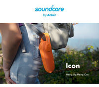Soundcore Icon by Anker, Bluetooth Waterproof Portable Speaker! (IP67 Water Resistance, 12-Hour Playtime, Built-in Mic)