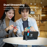 Bluetooth 5.0 Audio Transmitter for Nintendo Switch!