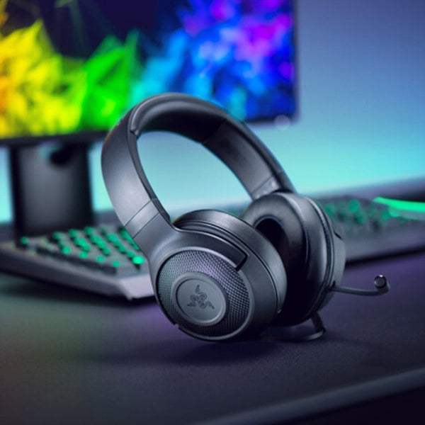 Razer Kraken X Ultralight Gaming Headset: 7.1 Surround Sound Capable | For PC, Xbox, PS4, Nintendo Switch!
