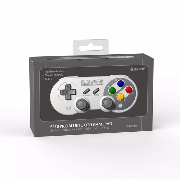 8Bitdo SF30 Pro Controller Windows, macOS, & Android - Nintendo Switch!
