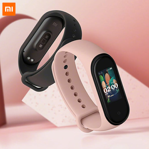 Xiaomi Mi Band 4 - AMOLED Color Screen, BT5.0 Fitness Tracker (Black)